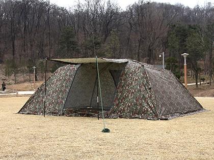 D형텐트 겸 플라이 (Military D Tent/Fly)